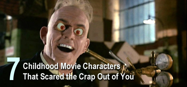 Scary Movie Characters Childhood