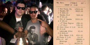London man sets record for most money spent in a nightclub