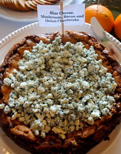bluecheese cheesecake