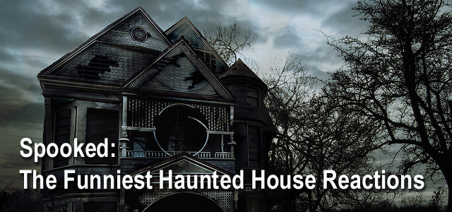 Funniest Haunted House Reactions