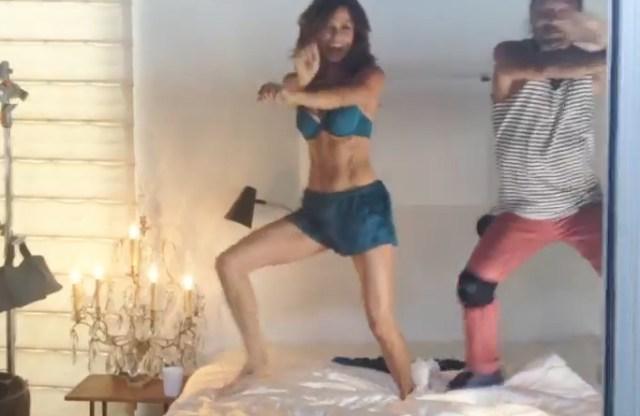 Brooke Burke Gangnam Style