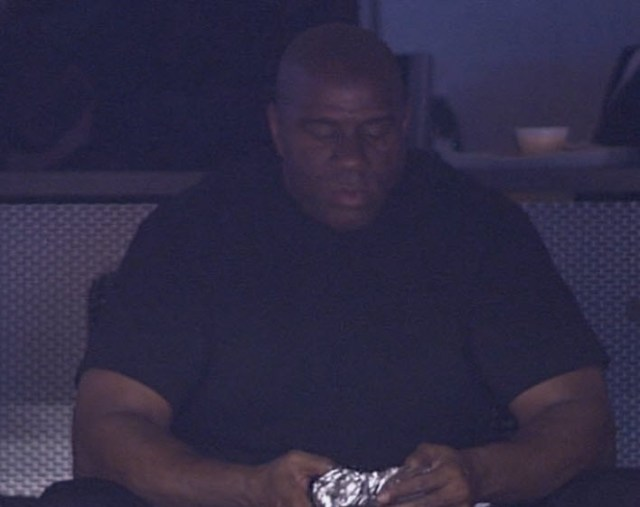 Magic Johnson hot dog