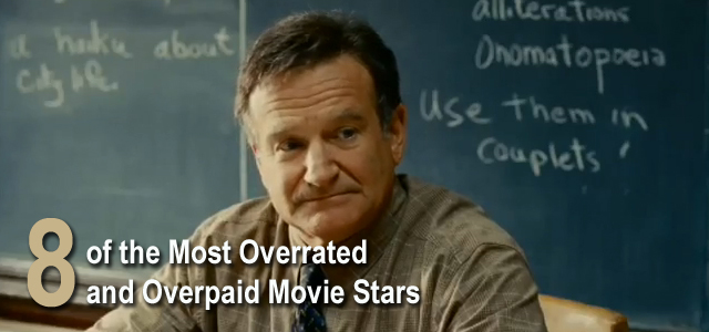 Most Overrated Overpaid Movie Actors
