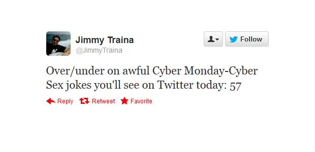 cyber monday jokes