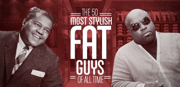 stylish fat guys