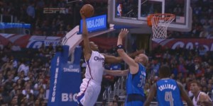 Animated GIFs: Caron Butler dunk facial vs. Jamal Crawford shimmy shake lob