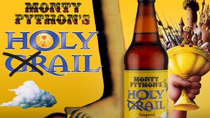 Monty Python Holy Grail Beer
