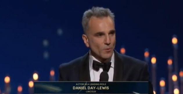 Daniel Day Lewis Oscars