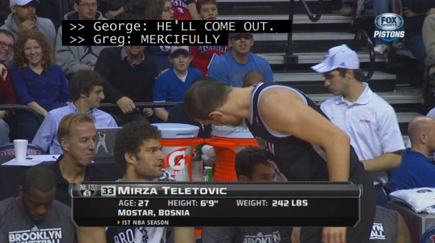 Mirza Teletovic sucks 2