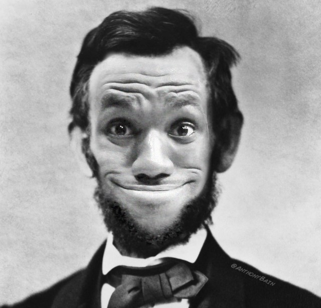 LeBron as Abe Lincoln