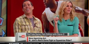 Steve-O talked about pleasuring a horse on ESPN