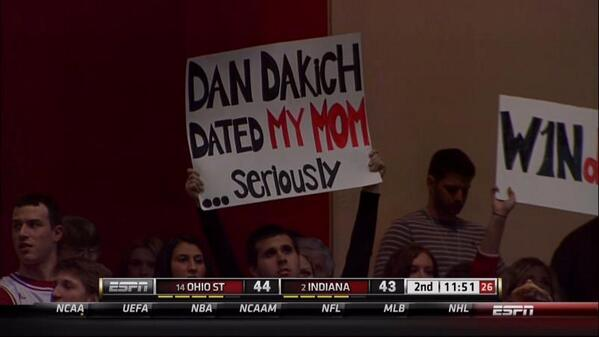 Dan Dakich dated my mom