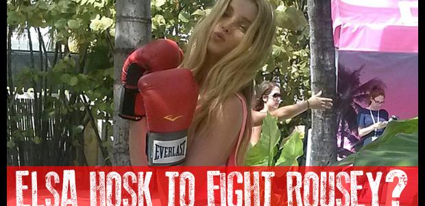 elsa hosk boxing