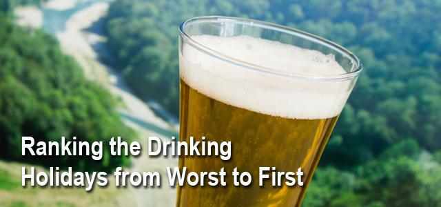 Best Drinking Holidays List