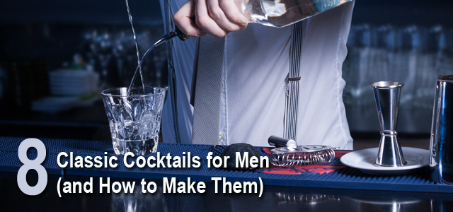 classic cocktail recipes list