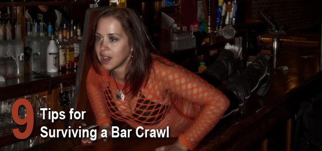 bar crawl plan advice tips