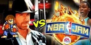 Chuck Norris dominates 'NBA Jam'