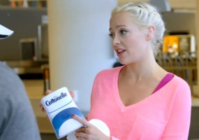 Cherry Healey actress Cottonelle