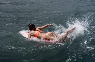 Anastasia Ashley surfer bikini butt pic