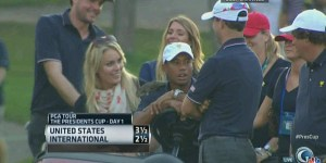 Lindsey Vonn and Tiger Woods had a threesome with a squirrel