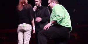 Justin Timberlake helped a guy propose at his concert in Louisville