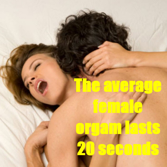 20 second orgasm