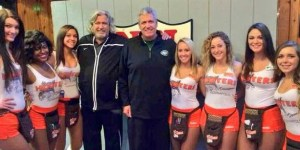 America's coolest coaching brothers love them some Hooters