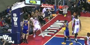 Kyle Singler tried to block a dunk—then 'Punch Out' happened