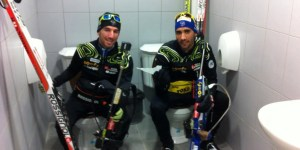 The dueling toilets in Sochi are real and someone took a selfie
