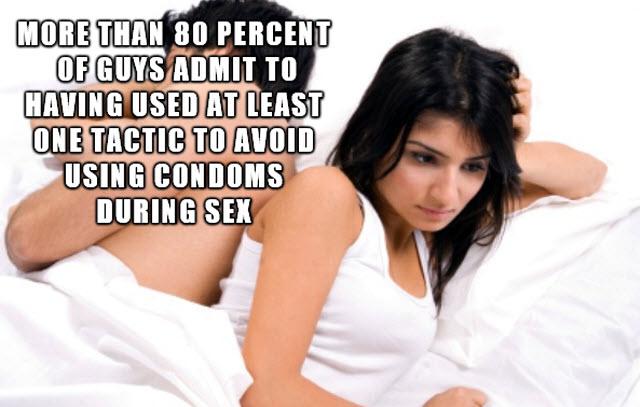 sex trouble condom