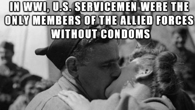 soldier condoms