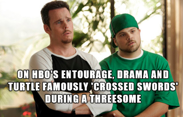 Entourage threesome