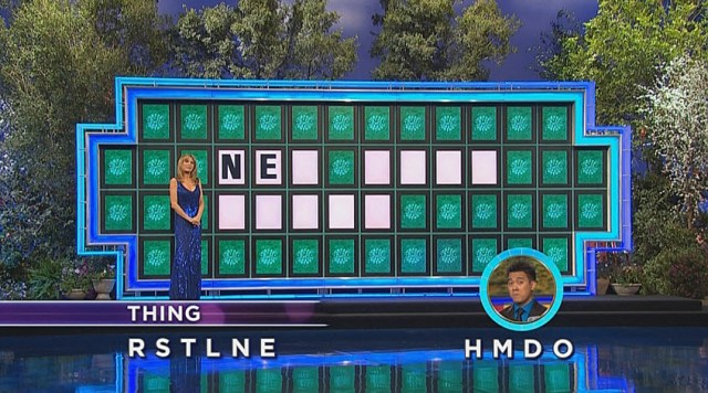 Wheel of Fortune guess