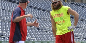 Jayson Werth Went FULL BRO During Batting Practice