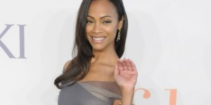 Zoe Saldana is kind of a freak, has had sex on a train and a plane