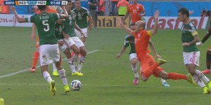 This Arjen Robben flop Vine is the clip that keeps on giving