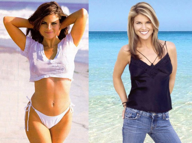 Yasmine Bleeth and Lori Loughlin