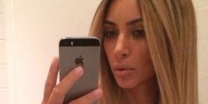 Yo, Kim Kardashian, we can all see your nipple