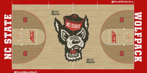 North Carolina State's New Basketball Court is Awesome