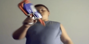 Greatest product review of all time involves a kid and a Nerf gun