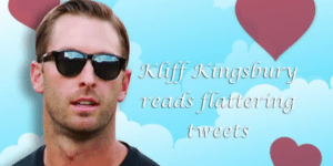 Kliff Klingsbury Read Flattering Tweets About His Looks