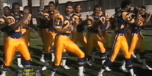 Please Allow the 1986 Los Angeles Rams to Sing You a Song About Football and Doing It