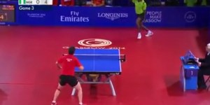 This 41-shot table tennis rally is absolutely insane