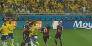 Thomas Müller Scored for Germany Because Brazil Left Him Wide Open