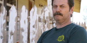 Nick Offerman reading shower thoughts is better than 'Parks and Rec'
