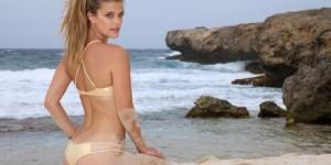 Nina Agdal in a bikini is always welcome around here
