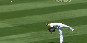 Sam Fuld Left Earth Completely In Order to Throw the Ball Home