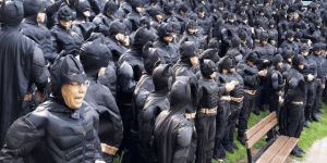So 542 People Dressed Like Batman Walk Into A Canadian Town…