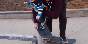 This Lil Skater Bro Still In Diapers Shreds Harder On A Skateboard Than You Ever Will