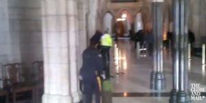 Here's Video Of The Gunfight Inside A Canadian Parliament Building